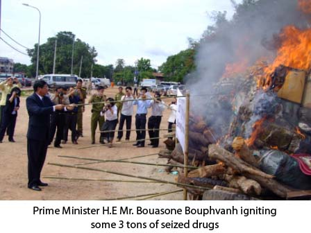 25.6.2010. Vientiane, 25 June 2010 – Over 3 tons of illicit drugs seized by Lao law enforcement officers were burned on Friday morning near the Lao National Assembly in commemoration […]